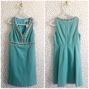 NWT Boden Elsa Blue Embellished Beaded Dress